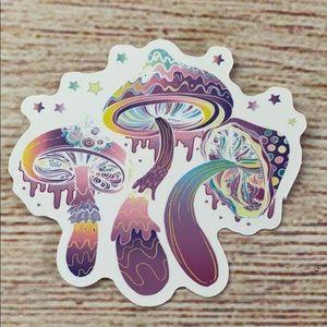 Hippie sticker matte finish brand new.